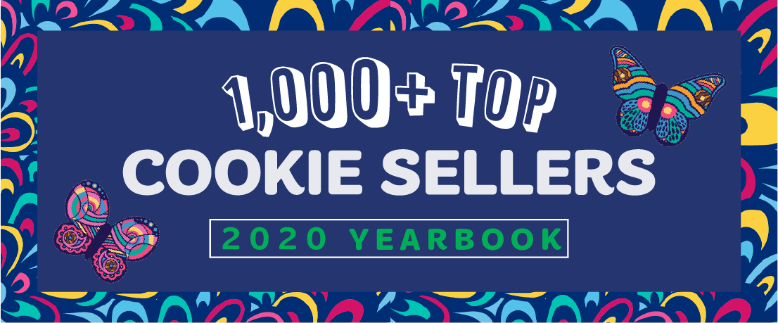 Top Cookie Seller Yearbook