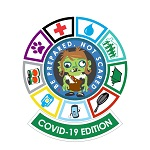 Great Cascadia Zombie Survival Challenge Patch Image