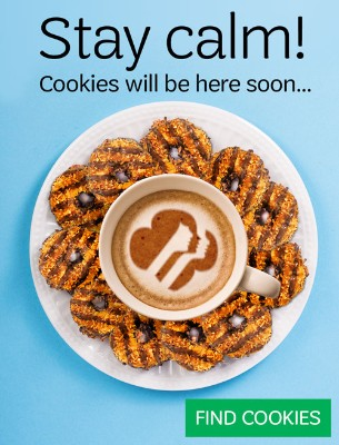 Cookies are coming!